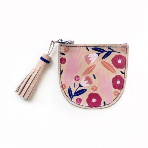 Leather Scoop Coin Purse