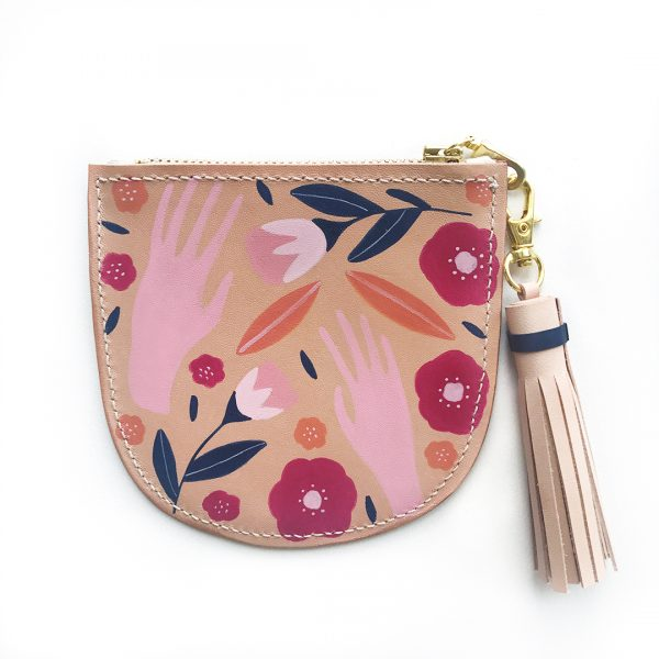 Leather Scoop Purse