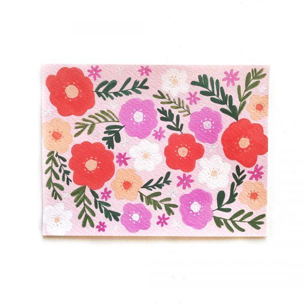 Summer florals - Postcards