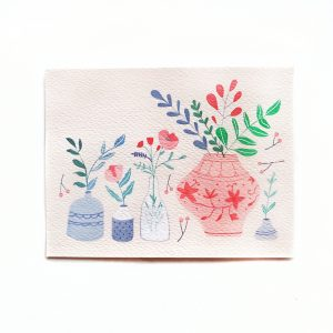 Vases Postcard