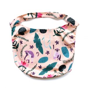 Playful Monkey Scoop Tote bag