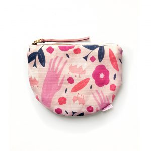 Florist Hands Scoop Zipper pouch