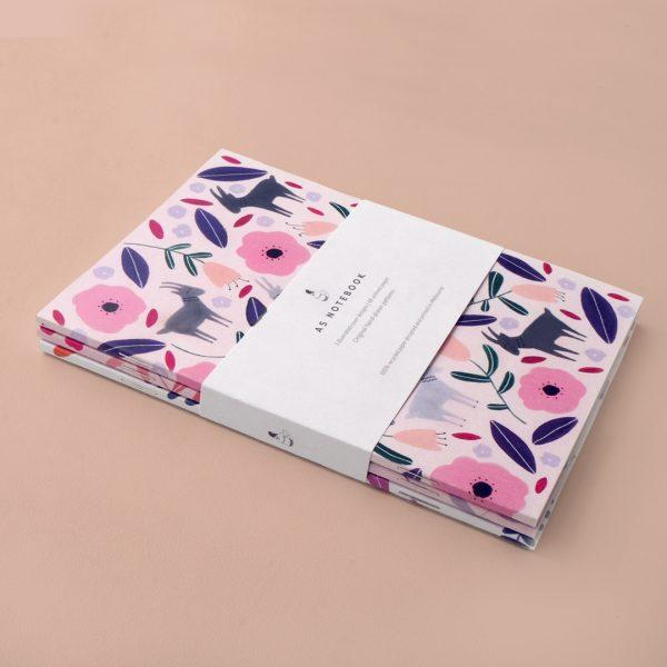 A5 Notebook set of 3