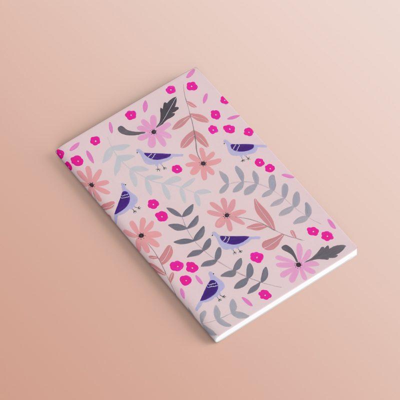 A5 Pigeon Notebook