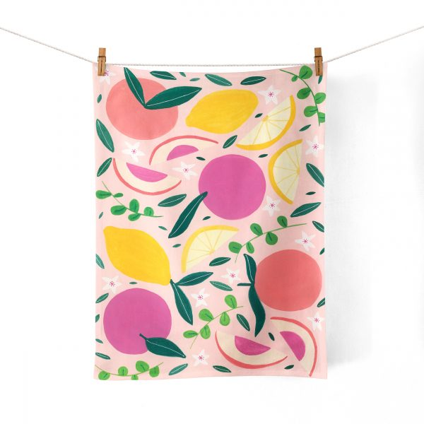 Fruitilicious Tea Towel