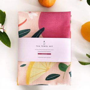 Styled Tea Towel Set with wrap