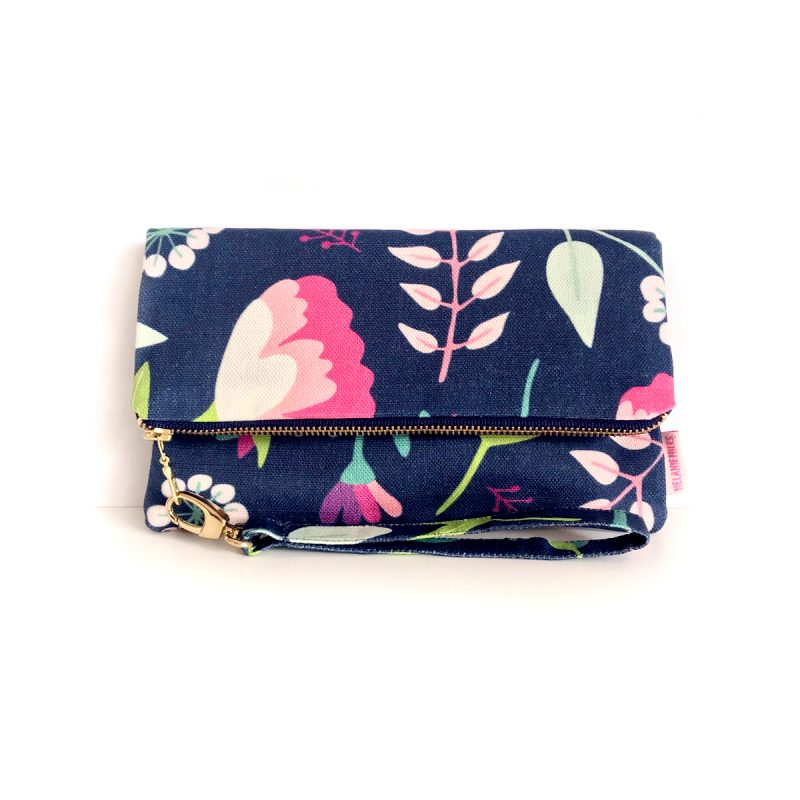 Vintage Floral_Fold Over Clutch_Small_PS