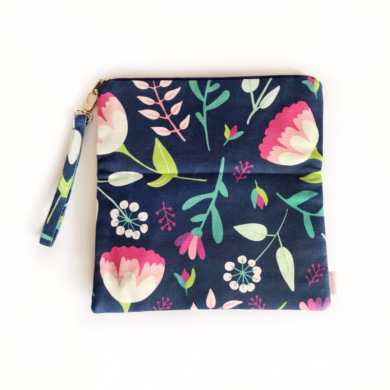 Vintage Floral_Fold Over Clutch_large_unfolded_PS